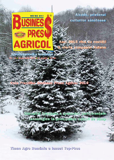 Revista Business Press Agricol – DECEMBRIE 2014