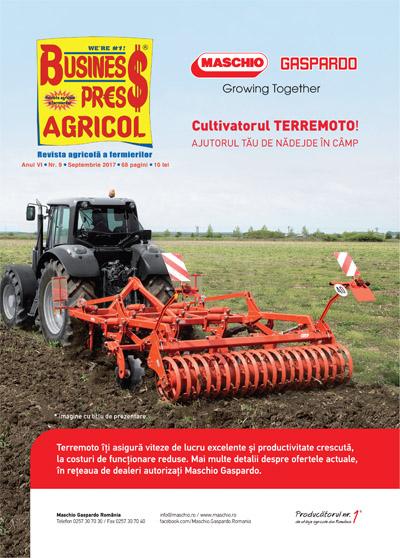 Revista Business Press Agricol – SEPTEMBRIE 2017