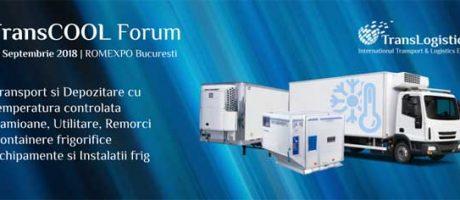 TransCOOL FORUM – Transport şi depozitare cu temperatură controlată