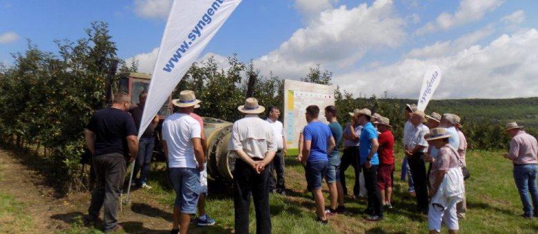 Syngenta a organizat întâlnirile tehnice OptiTech® dedicate pomiculturii și viticulturii