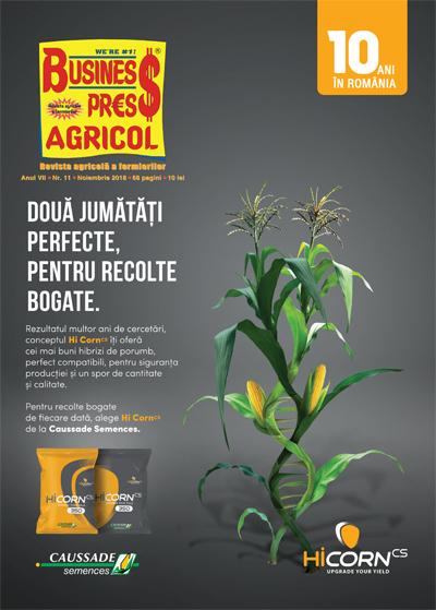 Revista Business Press Agricol – NOIEMBRIE 2018