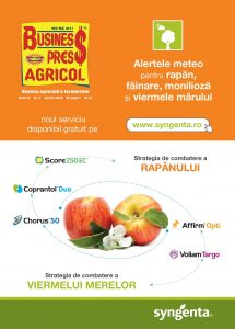 Business Press Agricol – APRILIE 2020