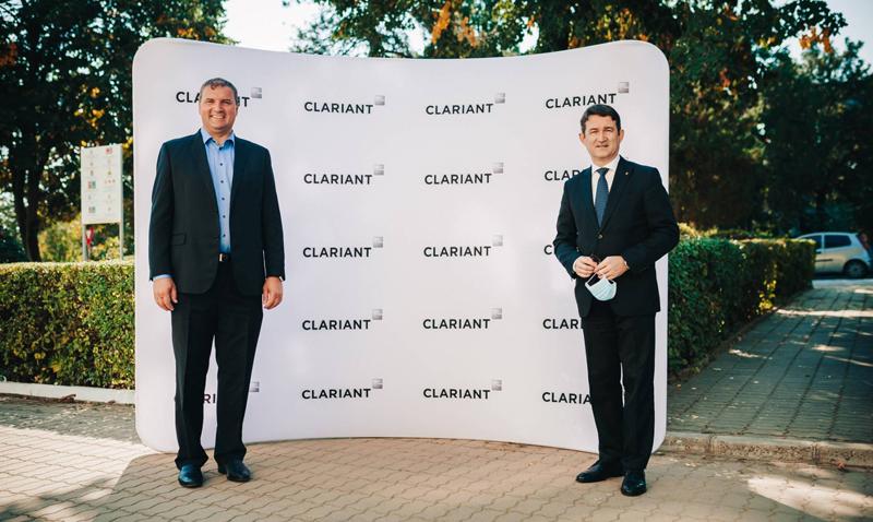 Vizită Ambasadorul Elveției la Clariant 1 800