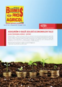Revista Business Press Agricol – FEBRUARIE 2017
