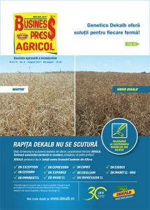 Revista Business Press Agricol – AUGUST 2017