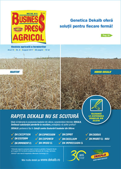 Revista Business Press Agricol – AUGUST 2017