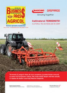 Revista Business Press Agricol – SEPTEMBRIE 2017