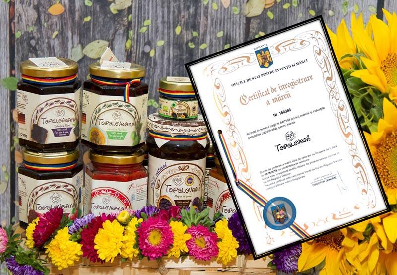 topoloveni certificat OSIM