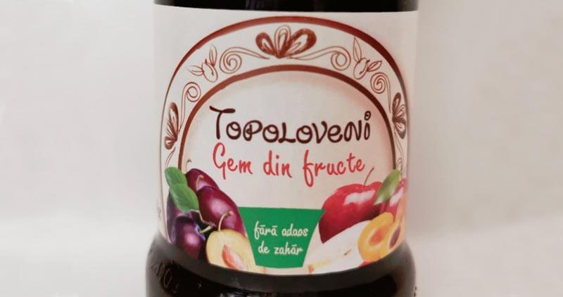 topoloveni gem fructe
