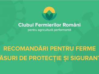 KV CLUB - recomandari ferme masuri protectie si siguranta