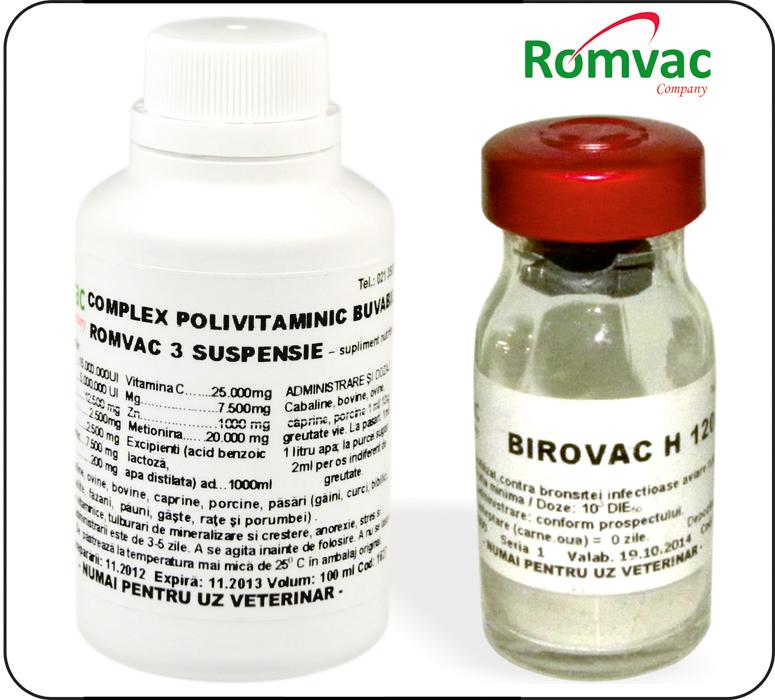 produse romvac
