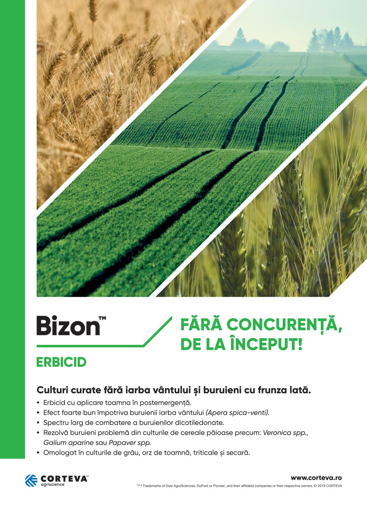 Corteva macheta Bizon 1200
