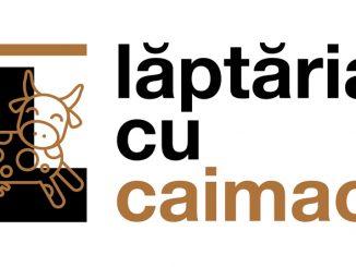 Logo Laptaria cu caimac - CMYK